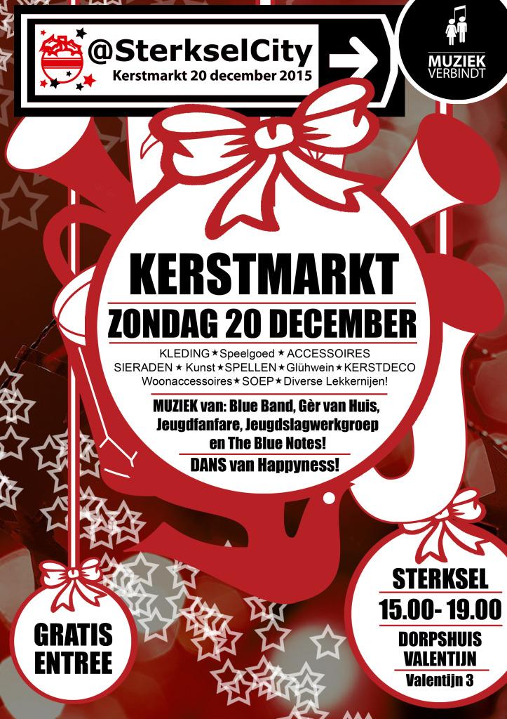 Kerstmarkt@SterkselCity 2015